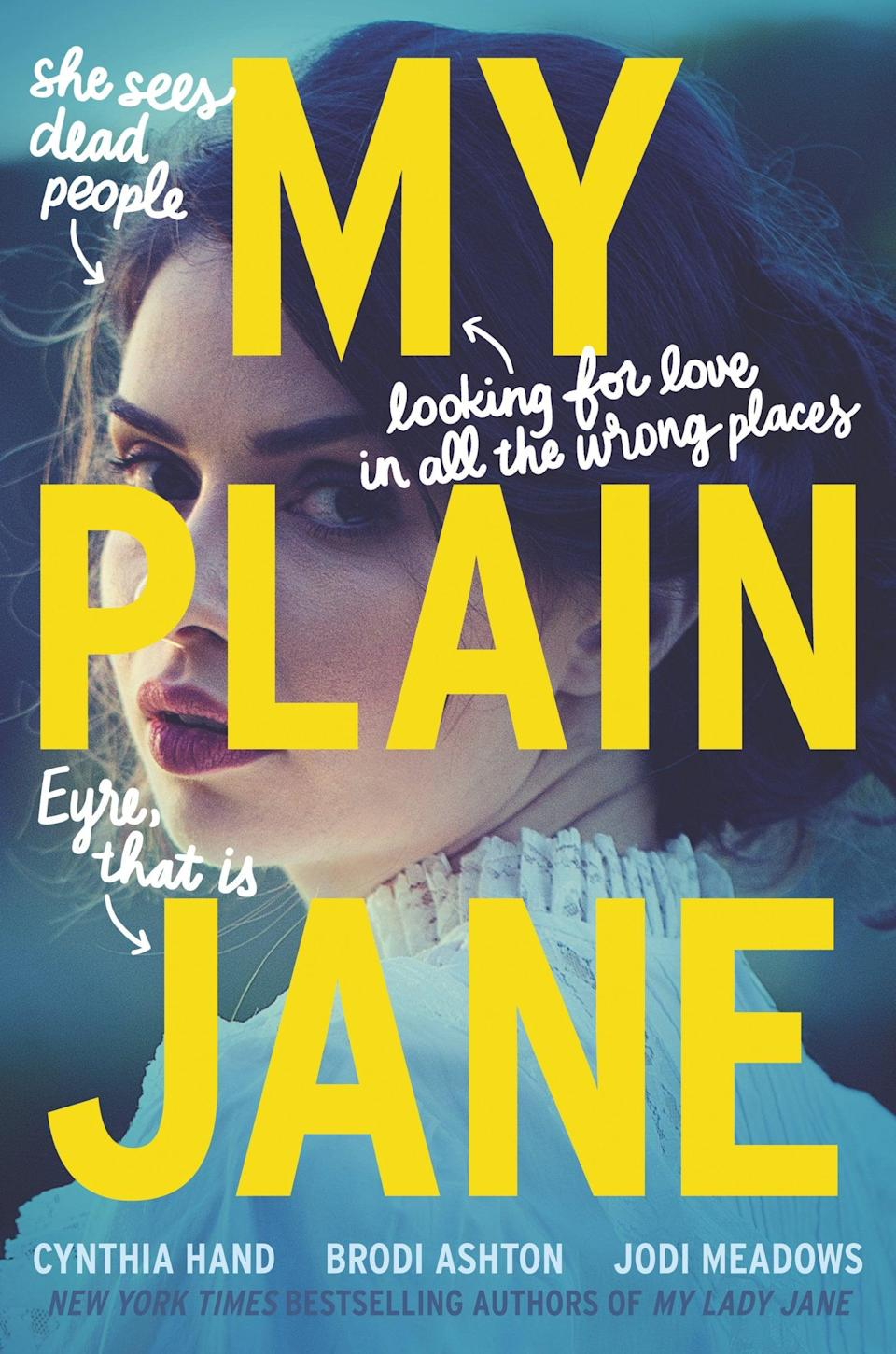 <p><strong>Jane Eyre</strong> is a superb Fall read, but it's nowhere near as cozy as Cynthia Hand, Brodi Ashton, and Jodi Meadows's clever retelling <span><strong>My Plain Jane</strong></span>. This version still has Mr. Rochester and a Gothic mansion, but it also has Jane communing with ghosts and hanging out with Charlotte Brontë, which is a major upgrade, in our opinion.</p>