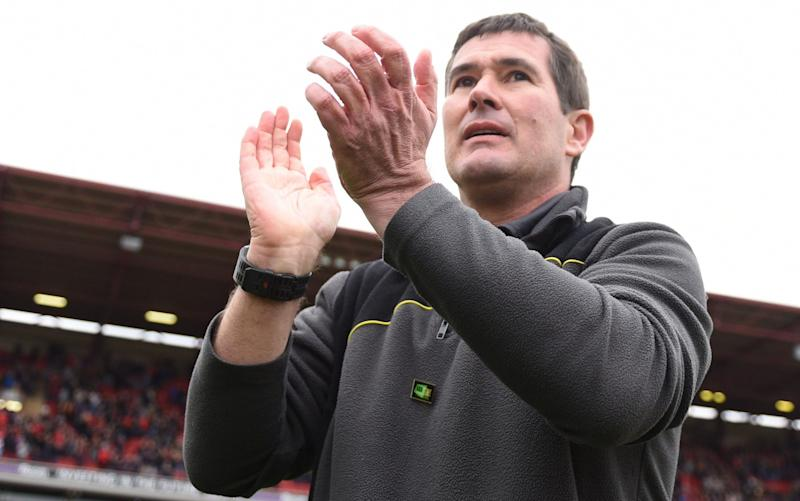 Nigel Clough - Credit: Rex Features