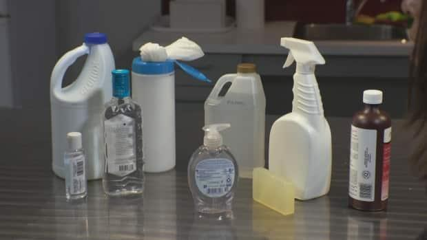 Demand for basic cleaning services is down for one company, but calls for disinfection services are up. (CBC News - image credit)