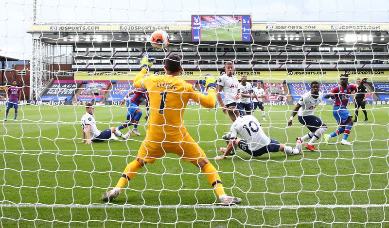 Tottenham seal Europa League spot with draw at Palace