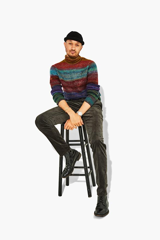 """""""I don't usually wear a lot of color, but I very much needed to own this sweater."""""""