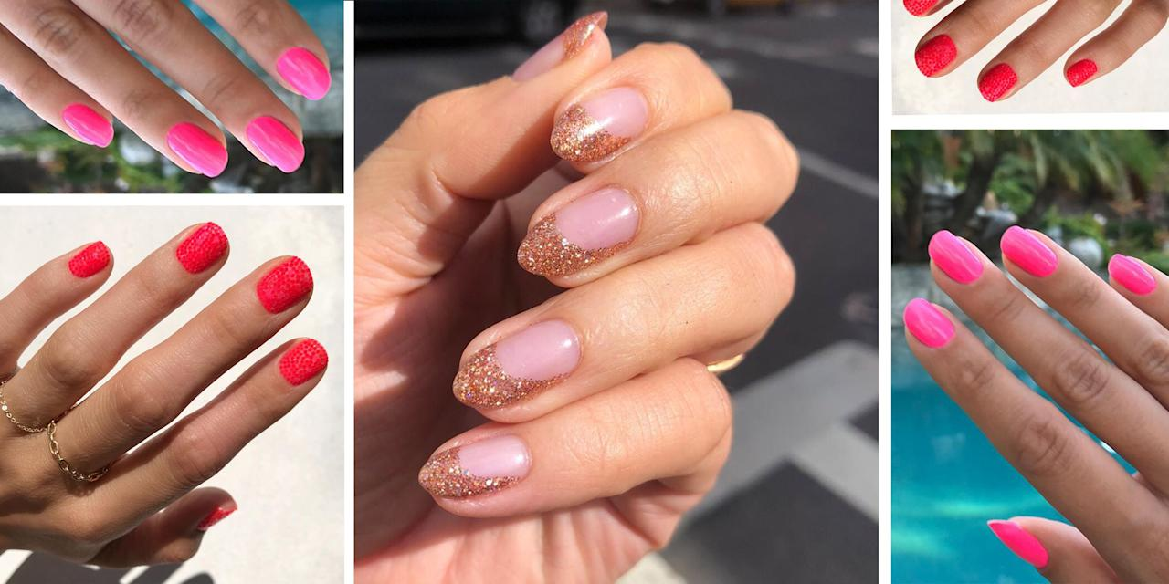 <p>Pink is having a moment. Beauty tastemakers like Rihanna and Kylie Jenner are dropping pink products left and right-and serving up major inspiration to wear the shade on our eyes, lips, and nails. In fact, a pink manicure is probably the most subtle and foolproof way to embrace the trend. Scroll down to see the best pink nail art ideas that will have you loving the shade all over again. </p>
