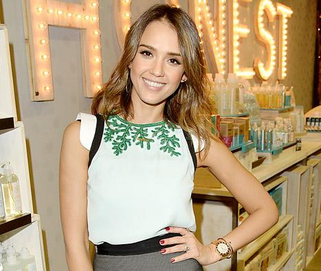 Jessica Alba: My Daughter Honor Ate Her Diaper When She Was a Baby