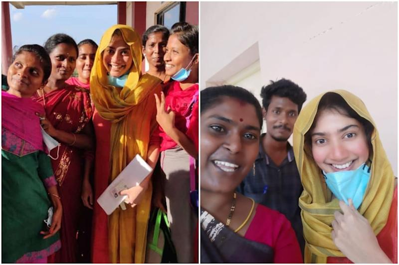 Photos of South Actress Sai Pallavi Appearing for FMGE Exams in Trichy Go Viral