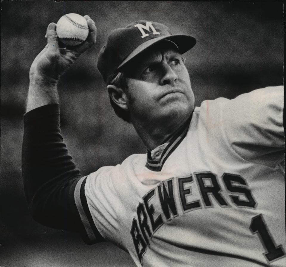 Del Crandall managed the Brewers from 1972-75.