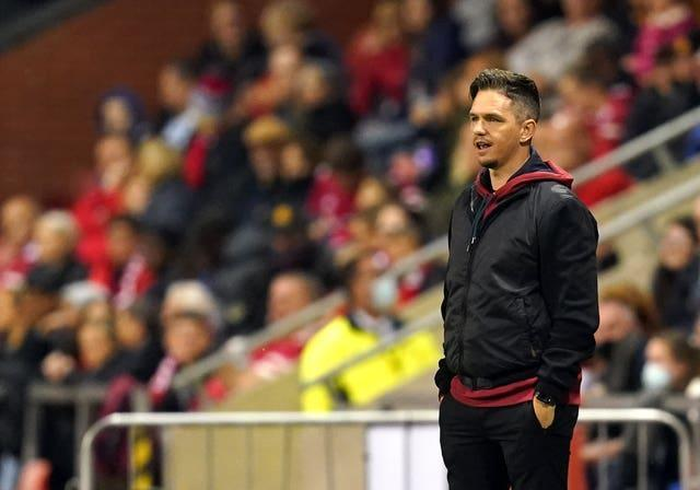 """Manchester United boss Marc Skinner has thanked NWSL players for """"standing up for what they believe in and what is right"""" (Martin Rickett/PA)."""