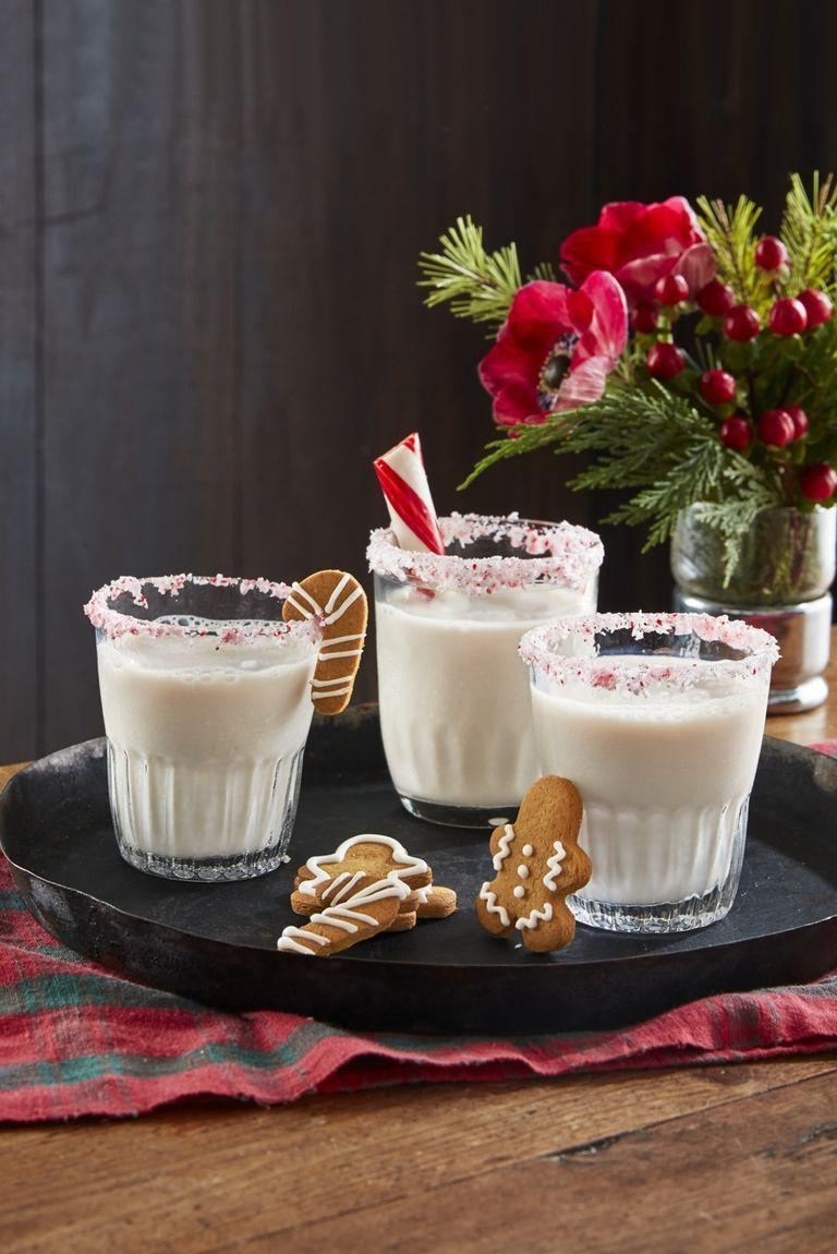 """<p>The only thing this rum-based drink needs is a crispy, crunchy gingerbread cookie to dunk in it.</p><p><strong><a href=""""https://www.countryliving.com/food-drinks/a29625988/driven-snow-cocktail-recipe/"""" rel=""""nofollow noopener"""" target=""""_blank"""" data-ylk=""""slk:Get the recipe"""" class=""""link rapid-noclick-resp"""">Get the recipe</a>.</strong> </p>"""