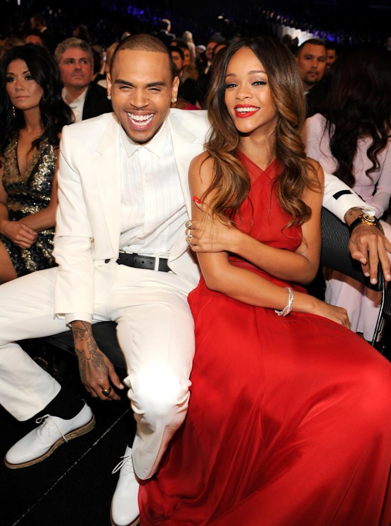 Four years after the domestic violence case heard around the world, Rihanna and Chris Brown reunited at the 2013 Grammy Awards before splitting for good.