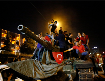 Turkish military tank