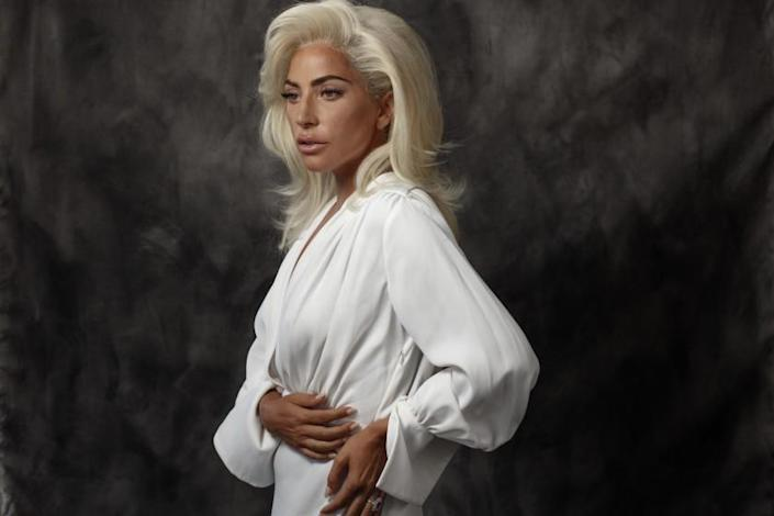 MALIBU, CA --AUGUST 23, 2018 -- Pop star and Emmy Award-winning actress, Lady Gaga, is photographed in advance of her new film,