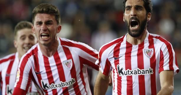 Foot - ESP - L'Athletic Bilbao l'emporte sur le fil contre Eibar
