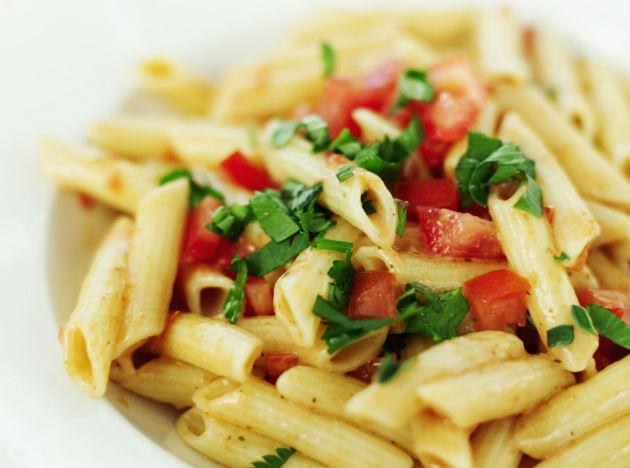 <b>Pasta </b><br>Now whosoever thought pasta could make it to a list of healthy foods! Not you! Now, you can indulge knowing that pasta has a low fat content and its healthier options can be consumed using less creamy sauces and recipes with tons of veggies! When it comes to healthy eating, avoiding some of your favourite foods may not be necessary. Know the right foods to eat and stay fit!