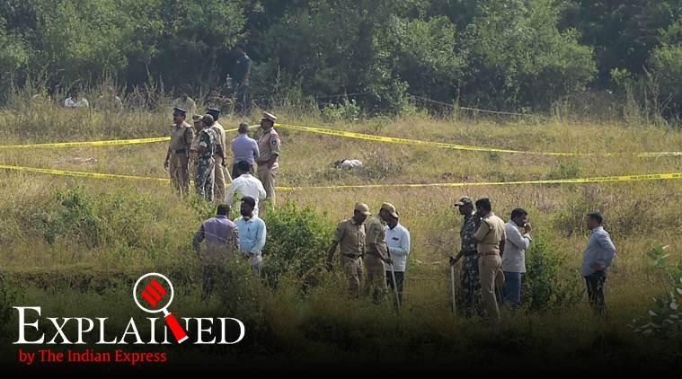 hyderabad news, hyderabad encounter, hyderabad rape murder case, hyderabad vet doctor rape, hyderabad encounter case, express explained, indian express