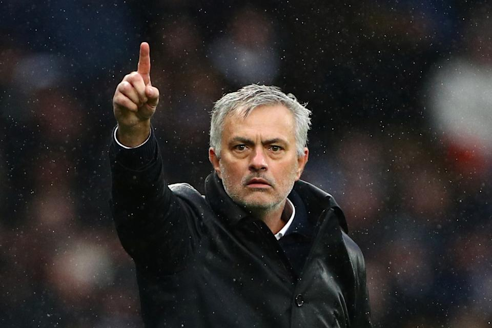 Jose Mourinho and Tottenham may be ripe for an upset this weekend. (REUTERS/Hannah McKay)