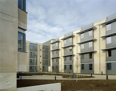 Woodland Court Student Accommodation in Bath University Campus. Photo: View Pictures/Universal Images