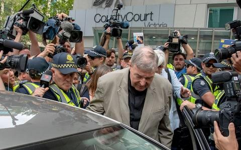 The most senior Catholic cleric ever charged with child sex abuse has been convicted of molesting two choirboys - Credit: Andy Brownbill/AP