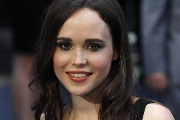Ellen Page arrives for the world premiere of the film ''Inception'' at the Odeon in London July 8, 2010.