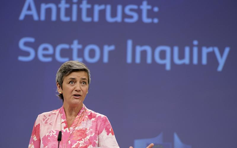 European commissioner Margrethe Vestager - Getty Images