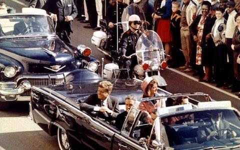 <span>U.S. President John F. Kennedy, First Lady Jaqueline Kennedy and Texas Governor John Connally ride in a liousine moments before Kennedy was assassinated, in Dallas</span> <span>Credit: Reuters </span>