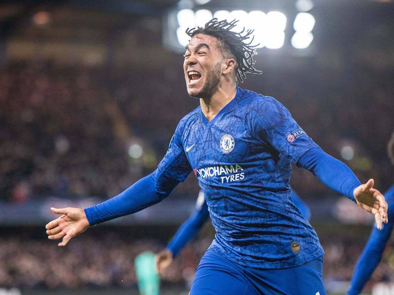 Reece James celebrates after scoring in Chelsea's comeback: Getty