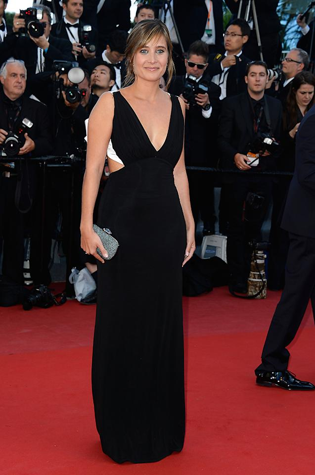 CANNES, FRANCE - MAY 21:  Actress Julie De Bona attends the 'Behind The Candelabra' premiere during The 66th Annual Cannes Film Festival at Theatre Lumiere on May 21, 2013 in Cannes, France.  (Photo by Pascal Le Segretain/Getty Images)