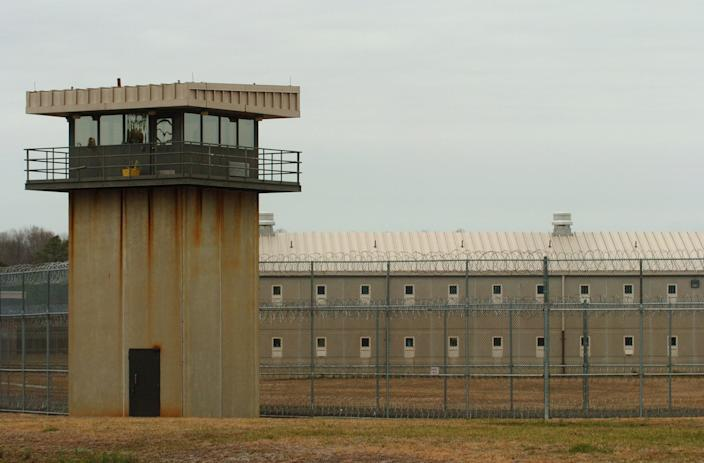 The exterior of Eastern Correctional Institution in Princess Anne.