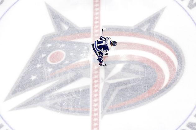 COLUMBUS, OH – JANUARY 19: Brandon Dubinsky #17 of the Columbus Blue Jackets stands at center ice during warmups prior to the start of the game against the Ottawa Senators on January 19, 2017 at Nationwide Arena in Columbus, Ohio. (Photo by Kirk Irwin/Getty Images)
