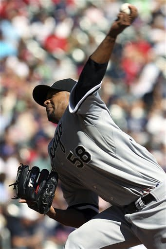 Liriano allows only one hit for White Sox