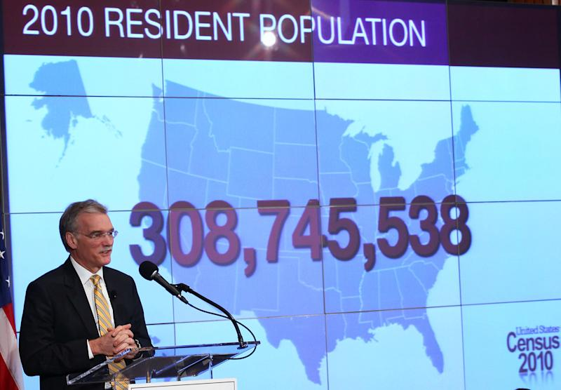 Former Director of the U.S. Census Bureau Robert Groves discusses the results of the 2010 Census during a press conference onDec. 21, 2010. Groves is one of several current and former officials who opposed the addition of a citizenship question to the 2020 census. (Win McNamee via Getty Images)