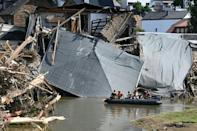 The worst flooding in living memory hit Germany in July killing 165 people (AFP/CHRISTOF STACHE)