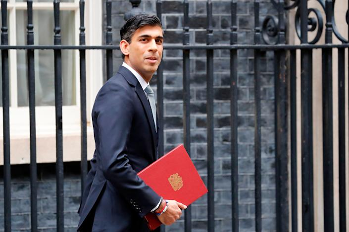 Britain's Chancellor Rishi Sunak announced a number of economic measures this week aimed at reviving the U.K. economy and protecting jobs, July 8, 2020. (Photo: TOLGA AKMEN via Getty Images)