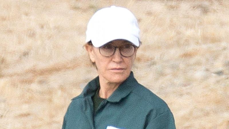Felicity Huffman Photographed in Prison Uniform During Husband William H. Macy's Visit