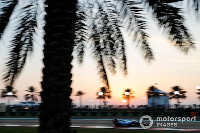 """George Russell, Williams Racing FW42 <span class=""""copyright"""">Steven Tee / Motorsport Images</span>"""