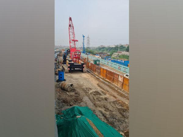 Visuals from the construction site.