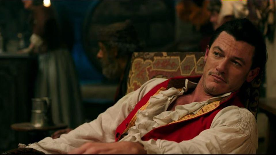 The role of Gaston eventually went to Luke Evans – Credit: Disney