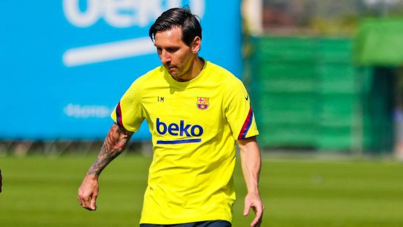 Messi absent as Koeman takes first Barca training session
