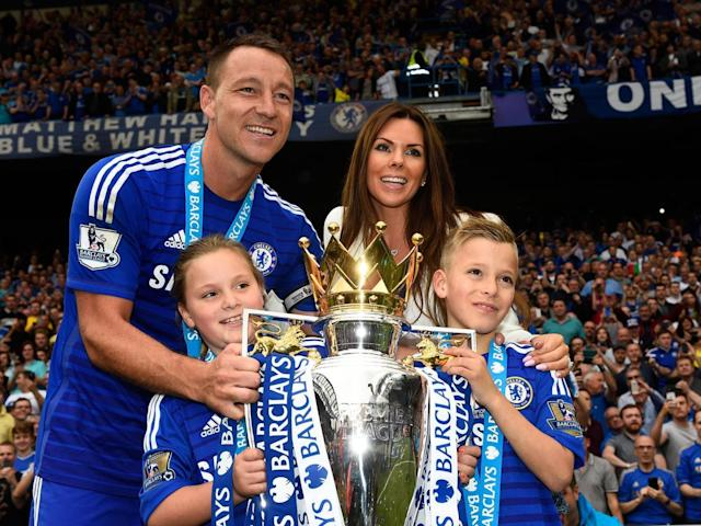 Terry has won the Premier League title four times with Chelsea (Getty)