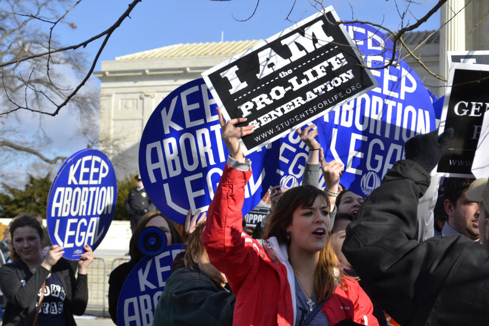 A new study from the University of California San Francisco analyzed women's emotions after abortions and found that the majority felt a sense of relief. (Photo: Getty Images)