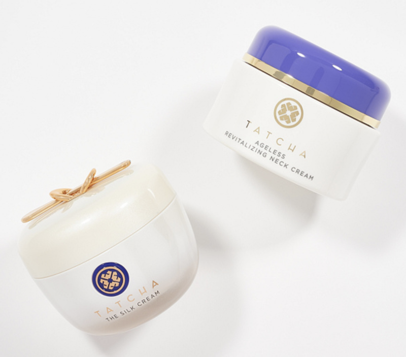 You can snag both products for cheaper than purchasing The Silk Cream alone. (Photo: QVC)
