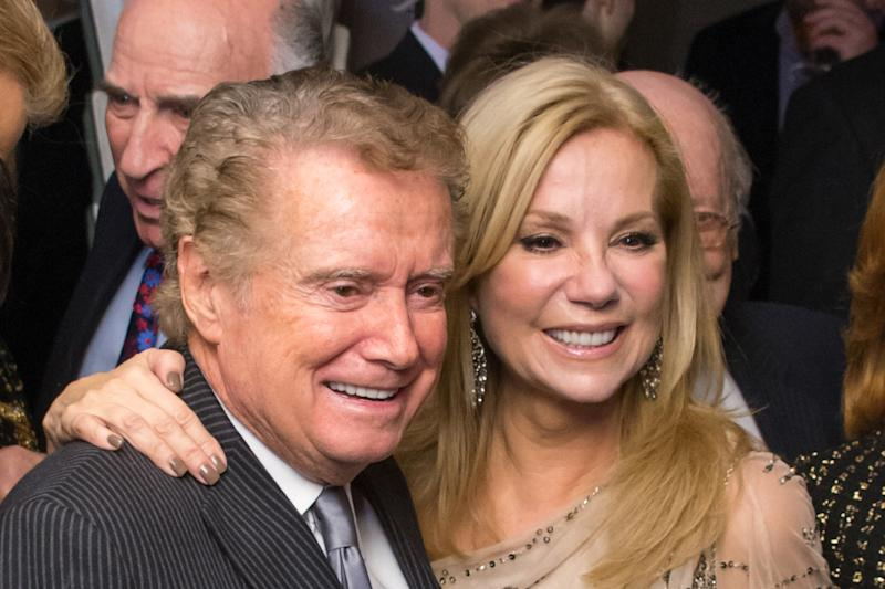Kathie Lee Gifford talks about her last visit with Regis Philbin, weeks before his death. (Photo: Getty Images)