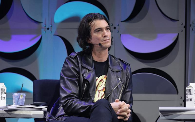 Adam Neumann is the colourful WeWork founder who was ousted as chief executive  - Getty Images North America