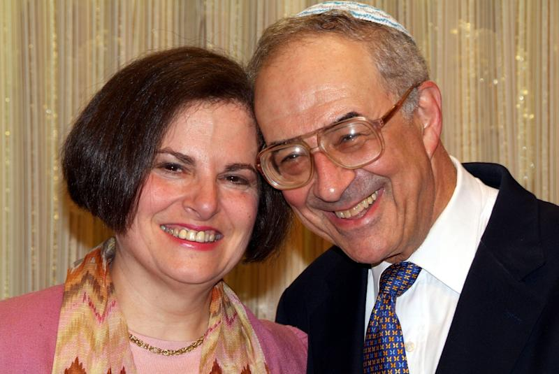 Sue Ducat and Stan Cohen, in Washington, D.C., in May 2006.