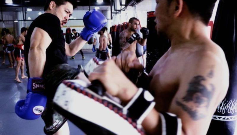Throughout the hard times in his life, Chatri has used the lessons learned from martial arts to help him keep going. (PHOTO: Evolve MMA)