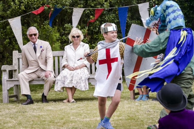 Royal visit to Scilly Isles