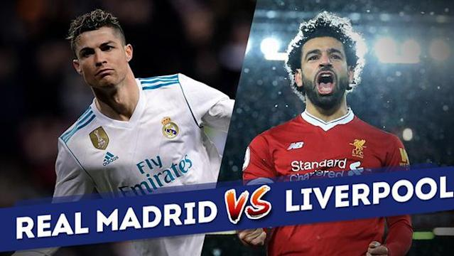 Berita video duel statistik Real Madrid vs Liverpool di Liga Champions 2017-2018.