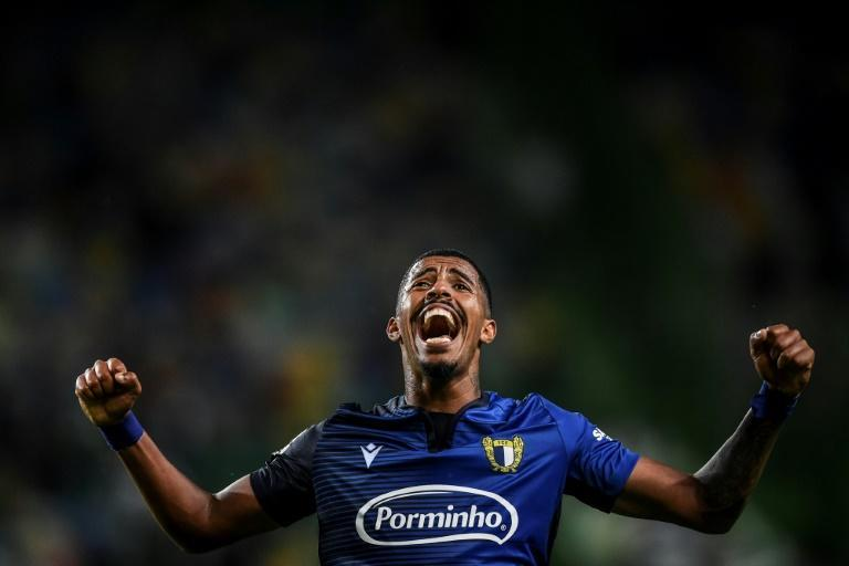 Brazilian forward Anderson Oliveira has been part of a stunning start to the season by little Famalicao in Portugal (AFP Photo/PATRICIA DE MELO MOREIRA)