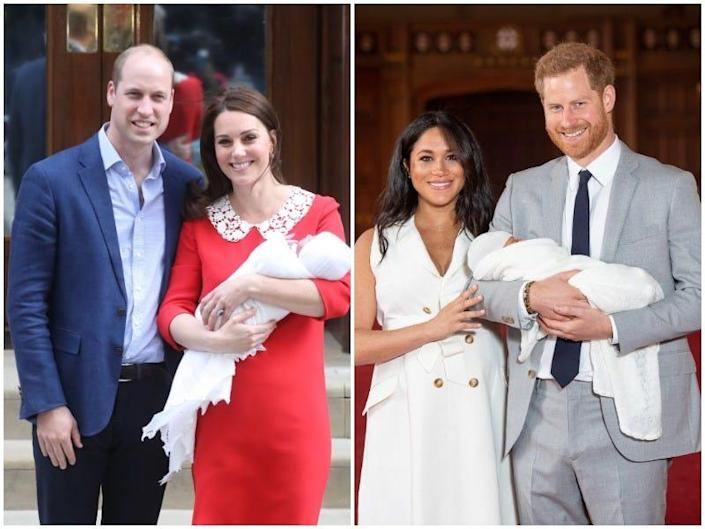 meghan harry kate will baby reveals