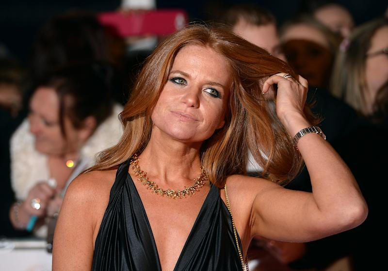 Patsy Palmer arriving for the 2014 National Television Awards at the O2 Arena, London.