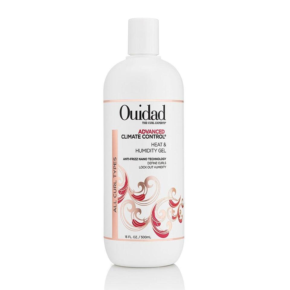 "<p>Ouidad's Advanced Climate Control Heat and Humidity Gel honestly speaks for itself. It gives curls major frizz control and <a href=""https://www.allure.com/gallery/best-gels-for-curly-hair?mbid=synd_yahoo_rss"" rel=""nofollow noopener"" target=""_blank"" data-ylk=""slk:definition with flexible hold"" class=""link rapid-noclick-resp"">definition with flexible hold</a> and doesn't dare leave hair feeling crunchy or weighed down. Keep this around all summer long and work it into damp hair before air-drying or blow-drying with a diffuser. Wheat- and silk-derived proteins, as well as kiwi fruit extract and <a href=""https://www.allure.com/story/what-is-glycerin-skin-care-ingredient?mbid=synd_yahoo_rss"" rel=""nofollow noopener"" target=""_blank"" data-ylk=""slk:glycerin"" class=""link rapid-noclick-resp"">glycerin</a>, keep hair smooth and protected against the sun.</p> <p><strong>$26</strong> (<a href=""https://www.amazon.com/Ouidad-Advanced-Climate-Control-Humidity/dp/B077GMVCVG"" rel=""nofollow noopener"" target=""_blank"" data-ylk=""slk:Shop Now"" class=""link rapid-noclick-resp"">Shop Now</a>)</p>"