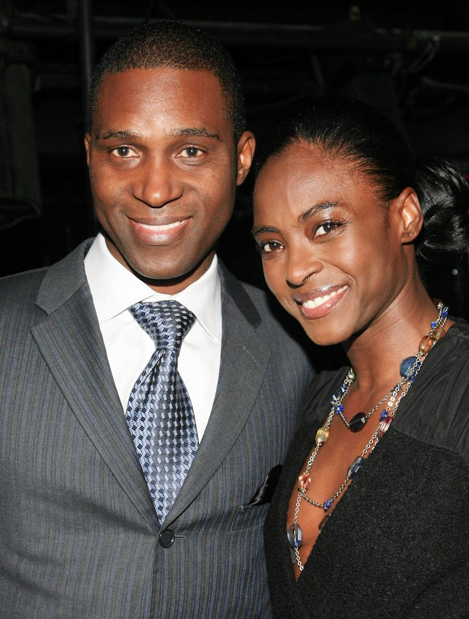 "NEW YORK, NY - FEBRUARY 03:  Nigerian Prince Kunle Omilana and Princess Keisha attend the ""Haiti Cherie"" Benefit to Support Grace International at District 36 on February 3, 2011 in New York City.  (Photo by John W. Ferguson/Getty Images)"